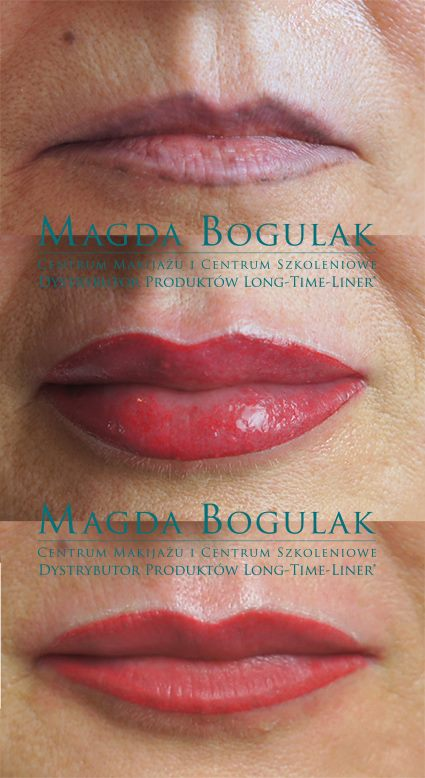 Nieudany Makijaż Permanentny Ust Makijaż Permanentny Expert