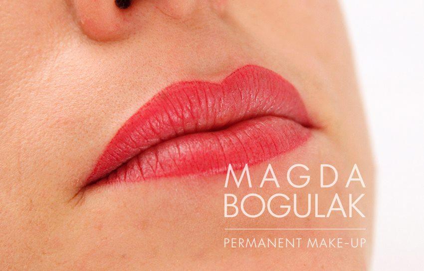 kolor makijażu permanentnego ust