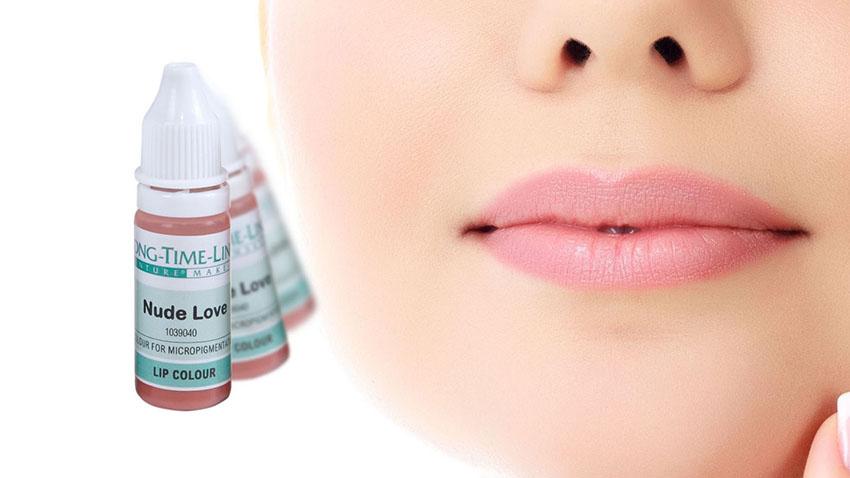 Inteligentny Barwniki do ust Nude Long-Time-Liner | Makijaż permanentny Expert JL48